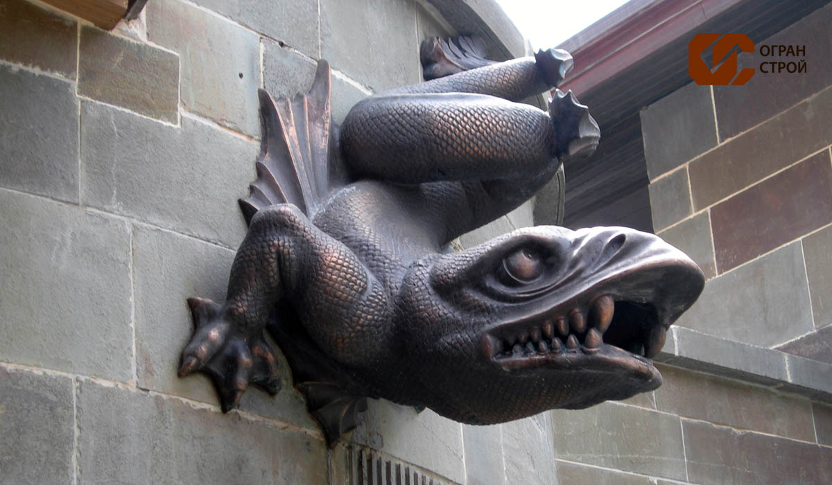 Дракон-бронза