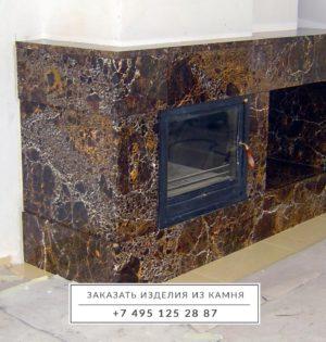 Камин-мрамор-Имперадор-Голд-1-1