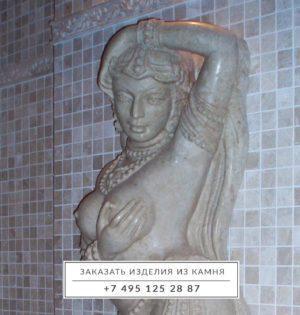 Скульптура-мрамор-бурда-бэж-1