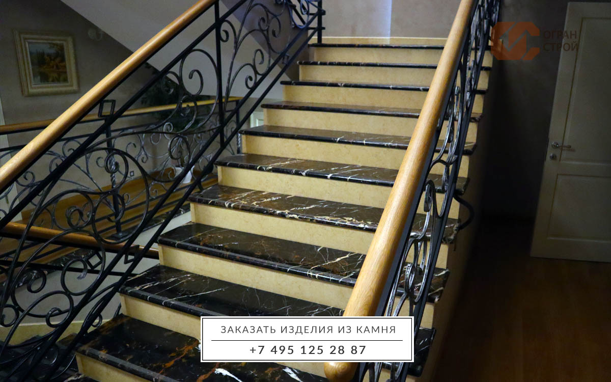 Лестница-мрамор-Блэк-Энд-Голд-1-2