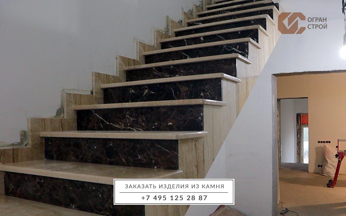 лестница мрамор